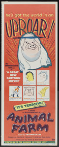 "Movie Posters:Animated, Animal Farm (DCA, 1955). Insert (14"" X 36""). Animated...."