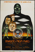 "Movie Posters:Science Fiction, Invaders From Mars (Wade Williams, R-1976). Poster (30"" X 40""). Science Fiction...."