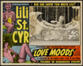 "Movie Posters:Sexploitation, Love Moods (Sonney Amusement Enterprises, 1952). Lobby Card (11"" X14""). Sexploitation...."