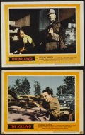 """Movie Posters:Film Noir, The Killing (United Artists, 1956). Lobby Cards (2) (11"""" X 14"""").Film Noir.... (Total: 2 Items)"""