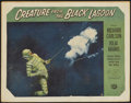 """Movie Posters:Horror, Creature From the Black Lagoon (Universal International, 1954). Lobby Card (9.5"""" X 12.5""""). Horror...."""