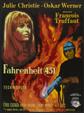"""Movie Posters:Science Fiction, Fahrenheit 451 (Universal, 1967). French Petite (22.5"""" X 31"""").Science Fiction...."""