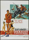 "Movie Posters:James Bond, Thunderball (United Artists, 1965). French Petite (15.5"" X 21.5"").James Bond...."