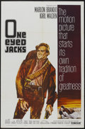 "Movie Posters:Western, One-Eyed Jacks (Paramount, 1961). One Sheet (27"" X 41"").Western...."