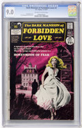 Bronze Age (1970-1979):Romance, Dark Mansion of Forbidden Love #2 (DC, 1971) CGC VF/NM 9.0Off-white to white pages....