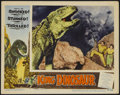 "Movie Posters:Science Fiction, King Dinosaur Lot (Lippert, 1955). Lobby Card (11"" X 14""). ScienceFiction.... (Total: 2 Items)"