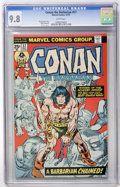 Bronze Age (1970-1979):Miscellaneous, Conan the Barbarian #57 (Marvel, 1975) CGC NM/MT 9.8 Whitepages....