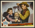 "Movie Posters:Western, Sheriff of Tombstone (Republic, 1941). Lobby Card (11"" X 14""). Western...."