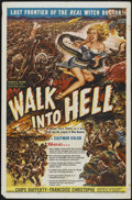 "Movie Posters:Adventure, Walk Into Hell (Patric, 1957). One Sheet (27"" X 41""). Adventure...."