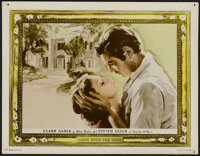 """Gone with the Wind (MGM, 1939). Color Glos Lobby Card (11"""" X 14""""). Academy Award Winner"""