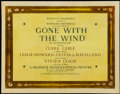 "Movie Posters:Academy Award Winner, Gone with the Wind (MGM, 1939). Half Sheet (22"" X 28""). AcademyAward Winner...."