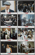 "Movie Posters:Crime, Once Upon a Time in America (Warner Brothers, 1984). Lobby Card Setof 8 (11"" X 14""). Crime.... (Total: 8 Items)"