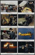 """Movie Posters:Adventure, The Aviator (MGM, 1985). Lobby Card Set of 8 (11"""" X 14"""").Adventure.... (Total: 8 Items)"""