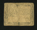 Colonial Notes:Maryland, Maryland August 14, 1776 $1 Very Good....