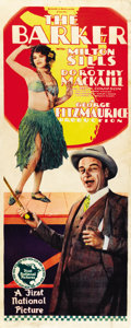 "Movie Posters:Romance, The Barker (First National, 1928). Insert (14"" X 36"")...."