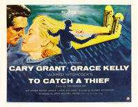 """To Catch a Thief (Paramount, 1955). Half Sheet (22"""" X 28"""") Style A"""