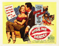 "Movie Posters:Film Noir, Kiss Me Deadly (United Artists, 1955). Half Sheet (22"" X 28"") Style B...."