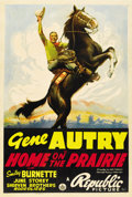 "Movie Posters:Western, Home on the Prairie (Republic, 1939). One Sheet (27"" X 41"")...."