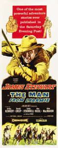 """Movie Posters:Western, The Man from Laramie (Columbia, 1955). Insert (14"""" X 36"""")...."""
