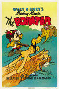 "Movie Posters:Animated, The Pointer (RKO, 1939). One Sheet (27"" X 41"")...."