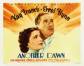 "Movie Posters:Drama, Another Dawn (Warner Brothers, 1937). Half Sheet (22"" X 28"") StyleB...."