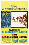 """Movie Posters:Western, The Magnificent Seven (United Artists, 1960). One Sheet (27"""" X 41"""")...."""