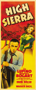 "Movie Posters:Film Noir, High Sierra (Warner Brothers, 1941). Insert (14"" X 36"")...."