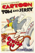 "Movie Posters:Animated, Cruise Cat (MGM, 1952). One Sheet (27"" X 41"")...."