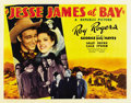 "Movie Posters:Western, Jesse James at Bay (Republic, 1941). Half Sheet (22"" X 28"") Style B...."