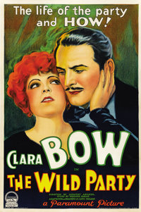 """The Wild Party (Paramount, 1929). One Sheet (27"""" X 41"""") Style B - Sound Version"""