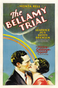 "Movie Posters:Crime, The Bellamy Trial (MGM, 1929). One Sheet (27"" X 41"")...."