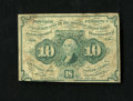 Fractional Currency:First Issue, Fr. 1242 10c First Issue Very Good....