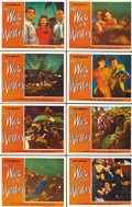 "Movie Posters:Science Fiction, The War of the Worlds (Paramount, 1953). Lobby Card Set of 8 (11"" X14"").... (Total: 8 Items)"
