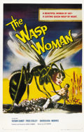 "Movie Posters:Science Fiction, The Wasp Woman (Film Group, 1959). One Sheet (27"" X 41"")...."