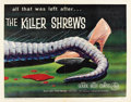 "Movie Posters:Science Fiction, The Killer Shrews (McLendon Radio Pictures, 1959). Half Sheet (22""X 28"")...."