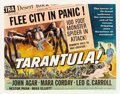 "Movie Posters:Science Fiction, Tarantula (Universal International, 1955). Half Sheet (22"" X 28"")Style B...."