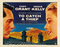 """Movie Posters:Hitchcock, To Catch a Thief (Paramount, 1955). Half Sheet (22"""" X 28"""") Style B...."""