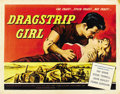 "Movie Posters:Bad Girl, Dragstrip Girl (American International, 1957). Half Sheet (22"" X28"")...."