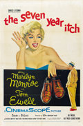 "Movie Posters:Comedy, The Seven Year Itch (20th Century Fox, 1955). One Sheet (27"" X41"")...."