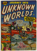 Golden Age (1938-1955):Horror, Journey Into Unknown Worlds #6 (Atlas, 1951) Condition: VG....