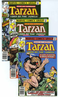 Bronze Age (1970-1979):Adventure, Tarzan #1-15 Group (Marvel, 1977-78) Condition: Average NM.... (Total: 16 Comic Books)