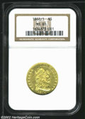 Early Half Eagles: , 1802/1 $5 MS61 NGC. ...