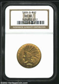Indian Eagles: , 1913-S $10 MS60 NGC. The current Coin Dealer Newsletter (...