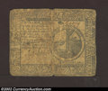 Colonial Notes:Continental Congress Issues, November 2, 1776, $2, Continental Congress Issue, CC-47, VG. ...