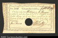 Colonial Notes:Connecticut, Connecticut 1790 Interest Payment Certificate,