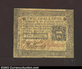 Colonial Notes:Pennsylvania, October 25, 1775, 2s, Pennsylvania, PA-187, XF-AU. This is a ...