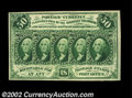 Fractional Currency:First Issue, Fr. 1312 50¢ First Issue Very Choice New. With just a tiny ...