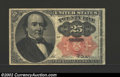 Fractional Currency:Fifth Issue, Fifth Issue 25c, Fr-1308, Fine. This Walker note with long ...