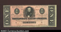 Confederate Notes:1864 Issues, 1864 $1 Clement C. Clay, T-71, XF-AU....