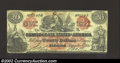 Confederate Notes:Group Lots, CT-19 $20 1861, VF. There are two repaired edge tears on this ...